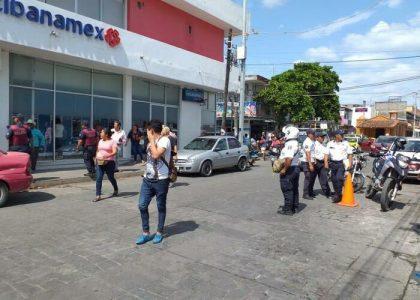 Reportan asalto a banco de Juchitán