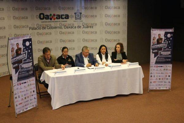Reunirá Exporienta Educativa y de Posgrado 2019 a más de 50 Instituciones Educativas de Oaxaca