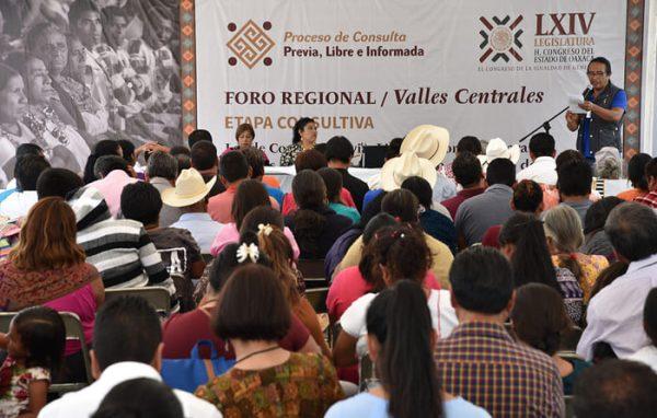 Ninguna ley se hará sin el respaldo de los pueblos de Oaxaca: Congreso