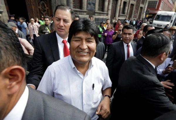 Elementos del extinto Estado Mayor Presidencial ahora cuidan a Evo Morales