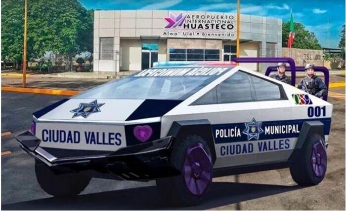 "Alcalde en SLP compra 15 camionetas ""futuristas"" de Tesla por ""sentido común"""