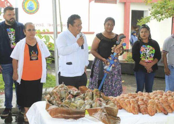Festividades de todos santos en Chiltepec, todo un éxito
