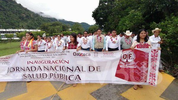 Inicia Primera Jornada Nacional de Salud Pública en Valle Nacional