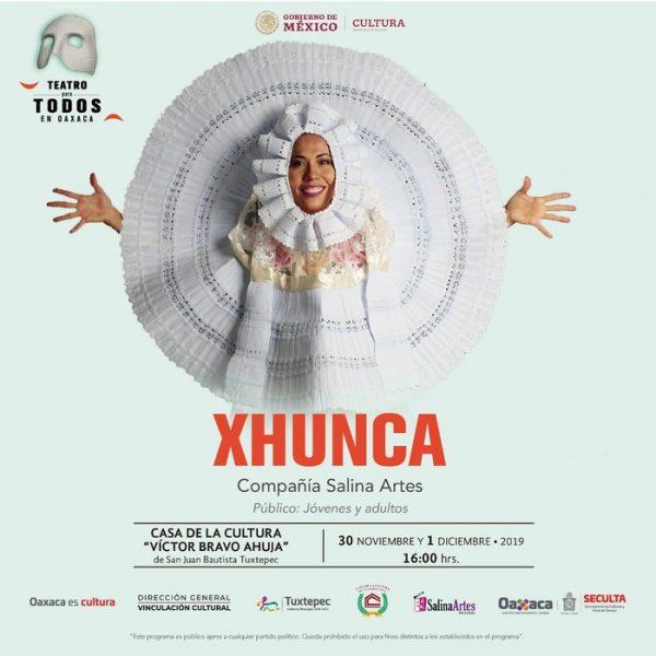Del Istmo a la Cuenca del Papaloapan llega Xhunca: Seculta