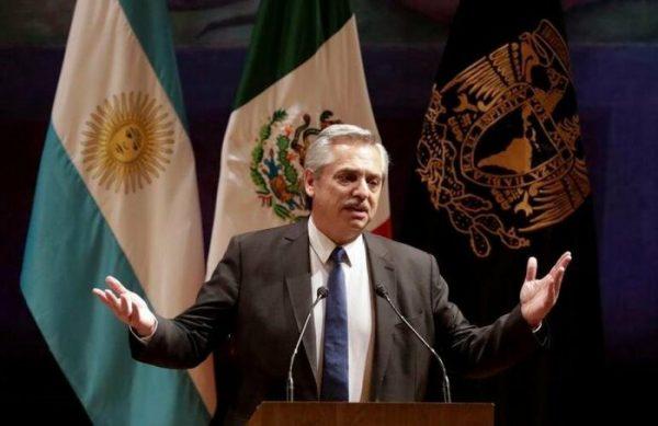 """Alberto Fernández a Correa: """"Tal vez México y Argentina puedan construir un eje que reviva de vuelta la unidad de Latinoamérica"""""""