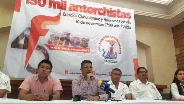 Anuncia Antorcha Campesina más movilizaciones en Oaxaca