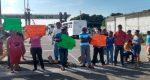 Bloquean entrada a Salina Cruz