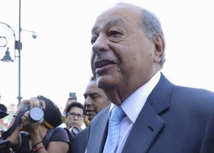 Carlos Slim confirma que participará en licitación del Tren Maya