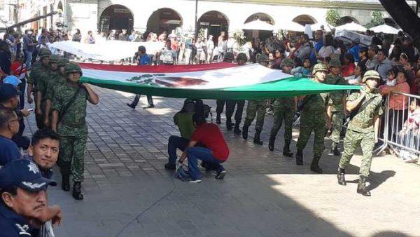 Sin Incidentes, se desarrolló desfile cívico- deportivo en la capital oaxaqueña