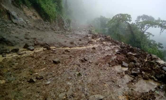 Lluvias dejan incomunicado a Santo Domingo en Valle; pobladores exigen presencia de CAO