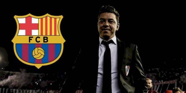 Marcelo Gallardo ya tendría fecha para llegar al Barça