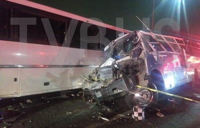 13 muertos por accidente en la autopista México-Pachuca