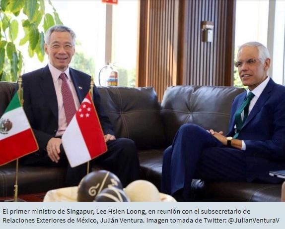 Participará Singapur en Plan de Desarrollo del Istmo