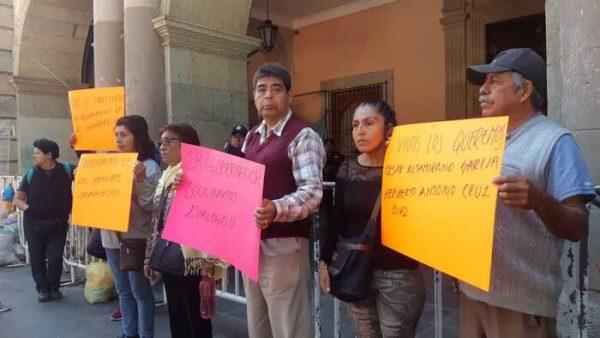 Buscan familiares a dos desaparecidos en Tlahuitolpepec