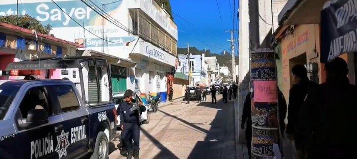 Violenta incursión de armados al negocio de regidor en Tlaxiaco