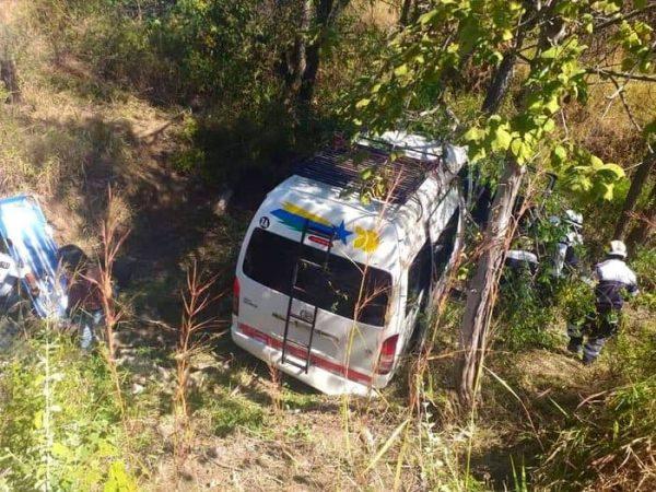 Fuerte accidente en la carretera a Ejutla