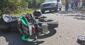 Muere motociclista en Huatulco