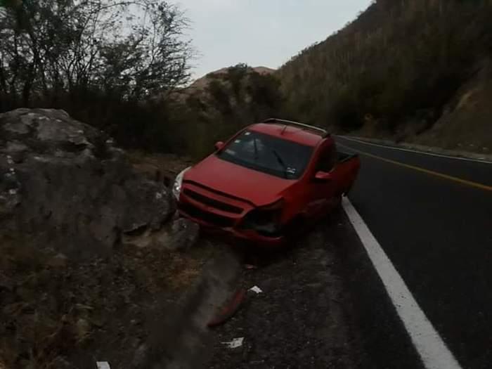 Fuerte accidente en el Istmo deja daños materiales