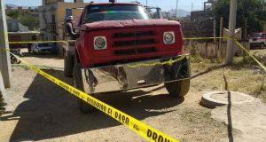 Conductor de pipa muere electrocutado  en Xoxocotlán