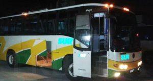 Asaltan autobús en el Istmo