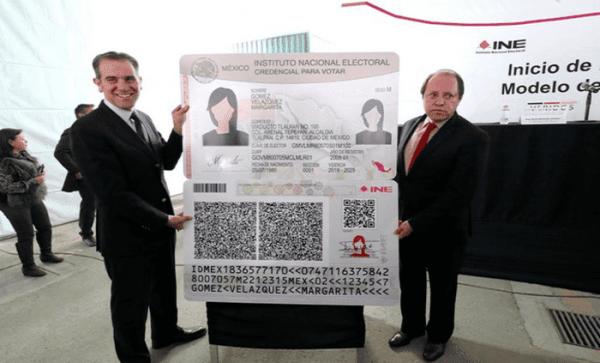 Así será la nueva credencial de elector; tendrá 24 elementos de seguridad