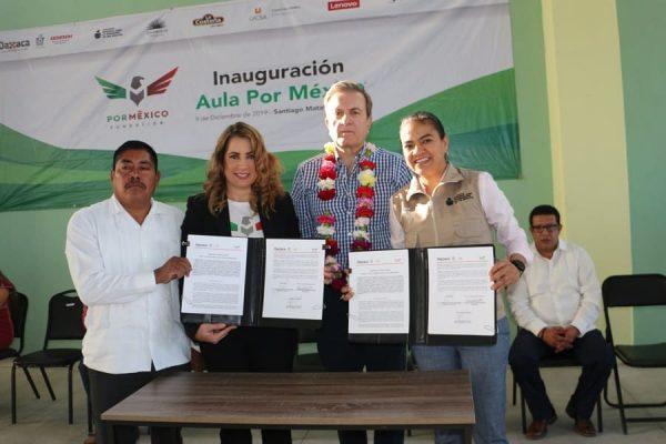 IEEA y Fundación por México, suman alianza para abatir rezago educativo en Oaxaca
