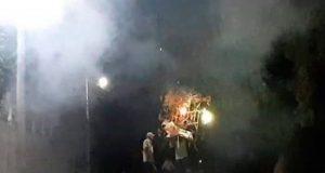 Quema de fuegos pirotécnicos deja lesionados en Pinotepa