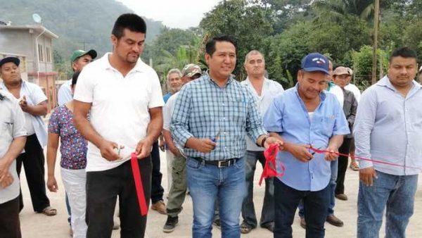 Culmina Rey Magaña el ejercicio 2019 con inauguración de obras en Arroyo de Banco