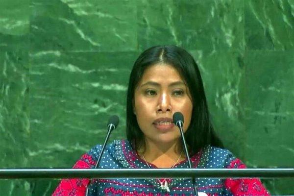 Yalitza Aparicio pide en la ONU protección para las lenguas indígenas