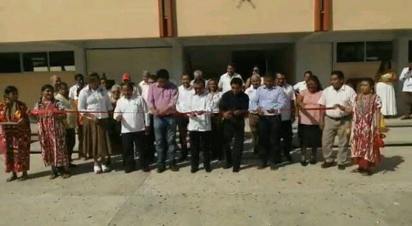 Tras año y medio de espera, inauguran aulas en la Secundaria Federal