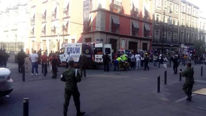 4 muertos tras balacera en Centro Histórico de la CDMX