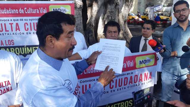 Realizarán consulta sobre parquímetros para Oaxaca el próximo sábado