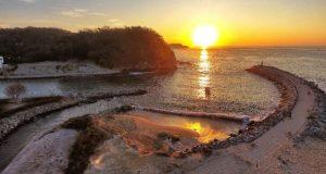 Los hermosos amaneceres en Bahías de Huatulco