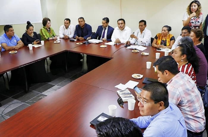 Un presupuesto responsable para Oaxaca, presidente de Jucopo