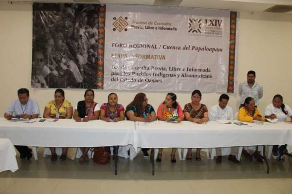 Garantizó Congreso participación de los Pueblos de la Cuenca en la construcción de la Ley de Consulta