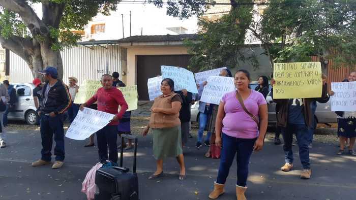 Habitantes de San Nicolás Miahuatlán exigen respeto a su elección