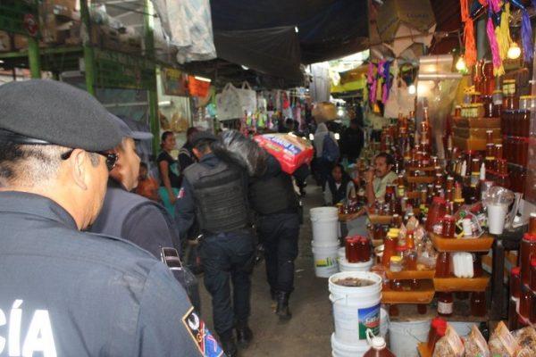 Aseguran 250 kilos de pirotecnia durante operativo en Oaxaca