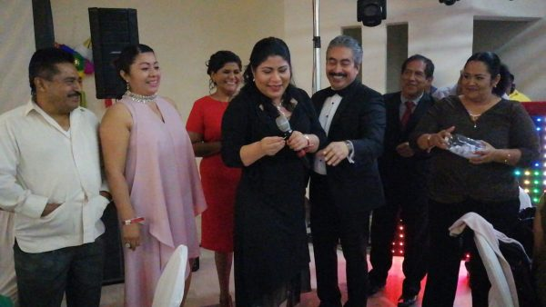 Festejan abogados de Tuxtepec preposada navideña