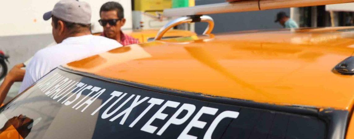 7 taxistas de Tuxtepec confirmados, en aplicación Taxiver