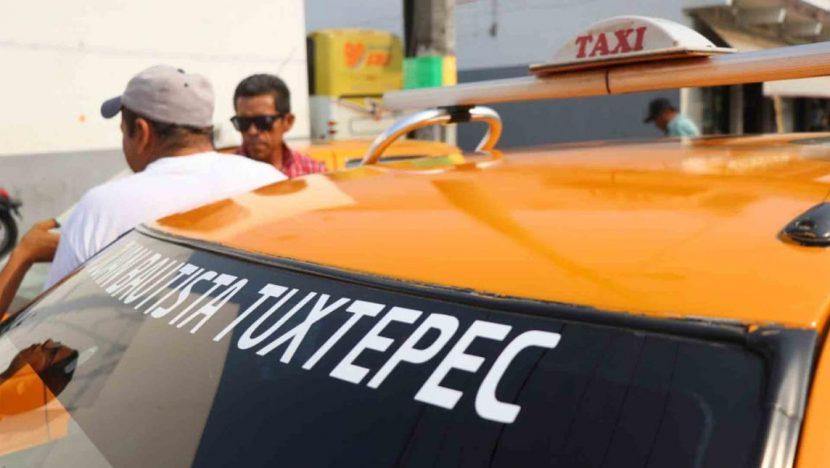Provoca el #Quédateencasa, que corridas de taxis caigan un 60% en Tuxtepec