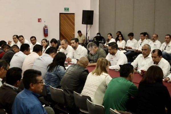 SEP, IEEPO y dirigencia magisterial se coordinan para atención de incidencias administrativas