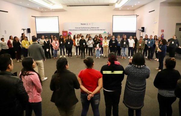 Fortalece el IEEPO la Educación Inicial en Oaxaca