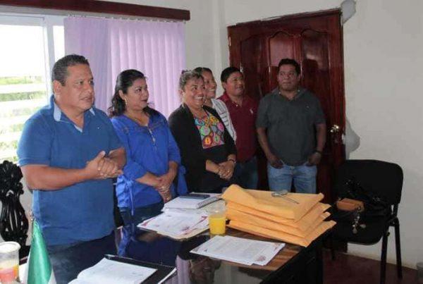 Toman protesta directores del H. Ayuntamiento de Chiltepec