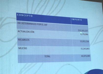 Ayuntamiento de Tuxtepec debe 60 mdp al SAT, en riesgo obra pública y apoyos dice Dávila