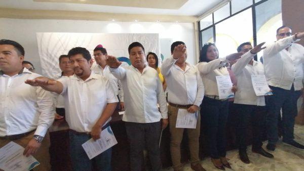 Por estrategia política, presenta Dávila nuevos Directores en ayuntamiento de Tuxtepec
