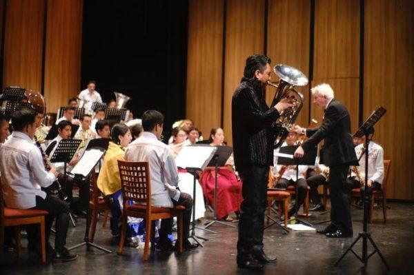 Estrena Banda Guelaguetza la pieza musical El Dorado