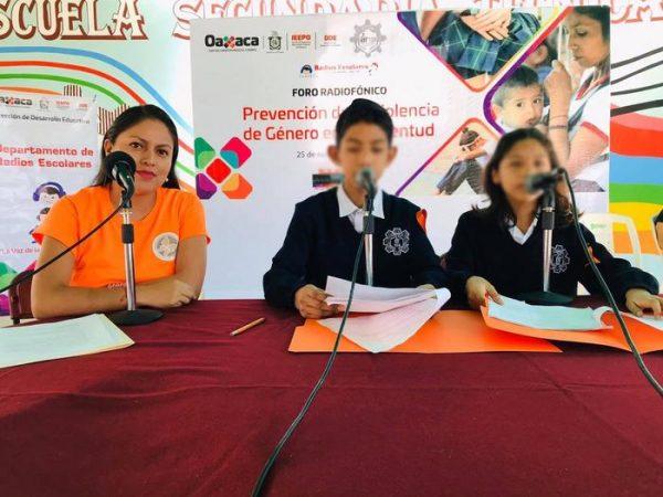 Apoya el IEEPO Radios Escolares para el desarrollo de habilidades en estudiantes de educación básica