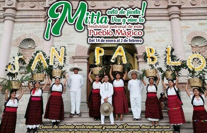 Pueblo Mágico de Mitla listo para recibir al turismo en su fiesta patronal
