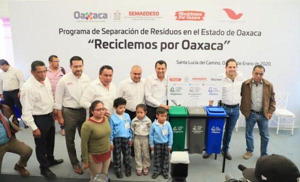 """Se suma Santa Lucia del Camino al  Programa Estatal """"Reciclemos Por Oaxaca"""""""