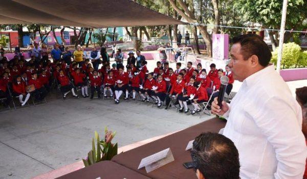 Inaugura Horacio Sosa semana de la paz y no violencia en las escuelas